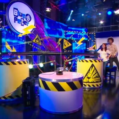 Live on Blue Peter, and Just For Graphs tour continues…
