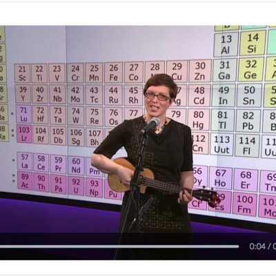 The new – and now complete! – Elements song on Channel 4 News