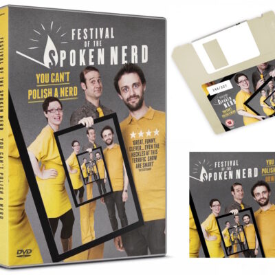 Our new show is out on DVD, download and… floppy disk?